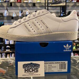 Adidas Superstar Human Made White Size 9