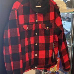 Red Buffalo Flannel Red Size XL