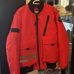 Canada Goose Bomber Jacket Red Size XL