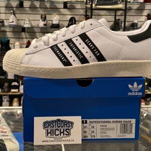 Adidas Superstar Human Made White Black Size 10.5