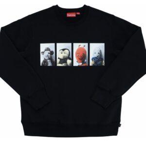 Supreme Mike Kelley AhhYouth! Crewneck Sweatshirt Black Size M