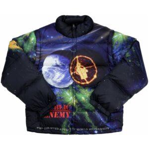 Supreme Undercover Public Enemy Puffy Jacket Multi Size M