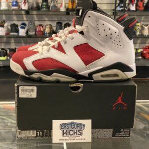 Preowned Jordan 6 Carmine Size 11
