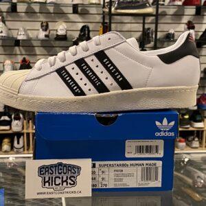 Adidas Superstar Human Made White Black Size 10