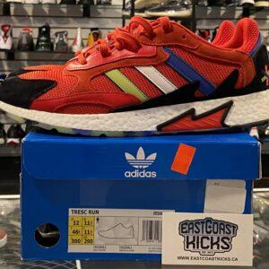 Preowned Adidas Tresc Run Red Size 12