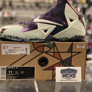 Nike Lebron 11 NOLA Gumbo League Gator King Size 11