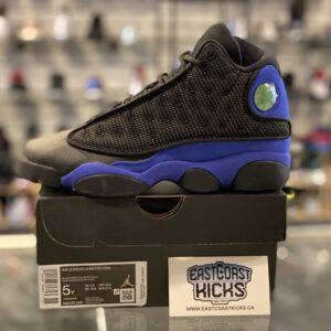 Jordan 13 Black Hyper Royal Size 5Y