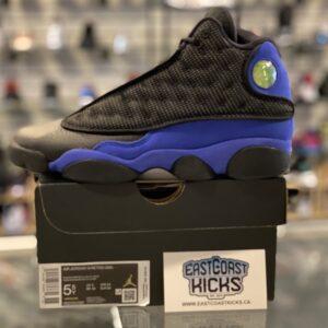 Jordan 13 Black Hyper Royal Size 5.5Y