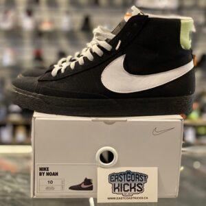 Preowned Nike Blazer Mid Black White Size 10