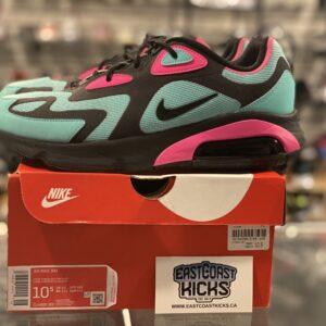 Preowned Nike Air Max 200 South Beach Size 10.5