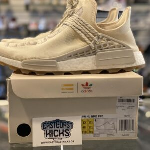 Preowned Adidas NMD Hu Trail Now is Her Time Cream White Size 13