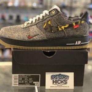 Nike Air Force 1 Low Remix Black Size 10