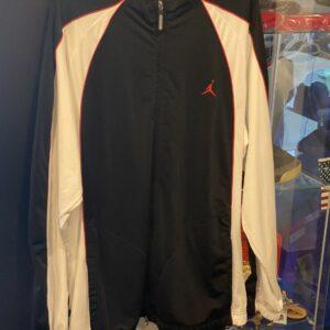 Preowned Jordan Jacket Red Black Size XXL