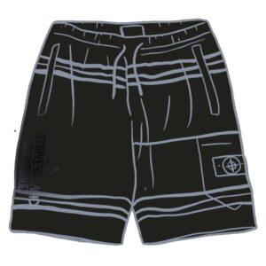 Supreme x Stone Island Shorts Size M