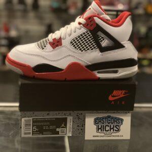 Jordan 4 Fire Red Size 5Y