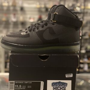 Preowned Nike Air Force 1 CMFT Lux Black Size 11.5