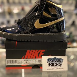 Jordan 1 High Black Metallic Size 5Y