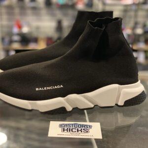 Preowned Balenciaga Speed Trainer Black 2018 Size 45EU/12US
