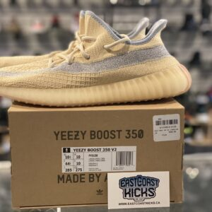 Preowned Adidas Yeezy 350 Linen Size 10.5