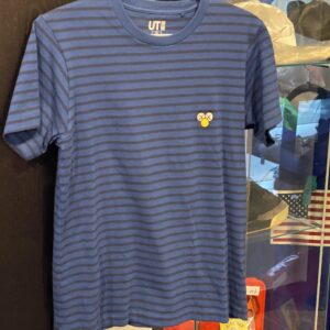 Preowned Kaws Tee Blue Striped Size XS