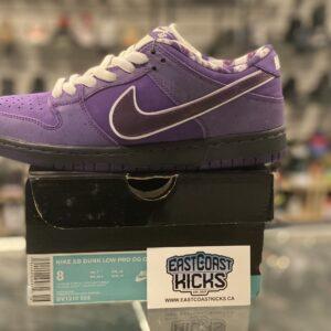 Nike SB Dunk Low Purple Lobster Size 8