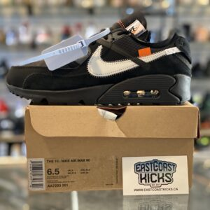 Nike Off White Air Max 90 Size 6.5Y