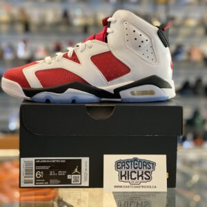 Jordan 6 Carmine Size 6.5Y