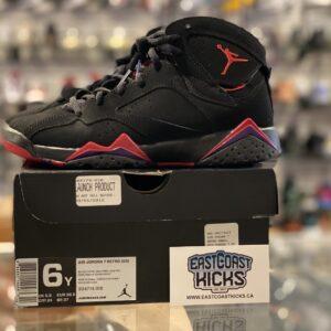 Preowned Jordan 7 Raptors Size 6Y