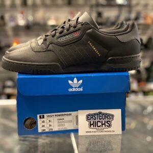 Preowned Adidas Powerphase Calabasas Core Black Size 10