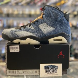 Jordan 6 Washed Denim Size 10.5