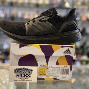 Adidas Ultra Boost 19 Triple Black Size 8