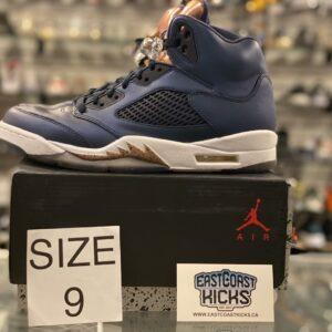 Preowned Jordan 5 Bronze Medal Size 9