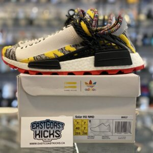 Preowned Adidas Human Race Solar Pack Red Size 7.5Y