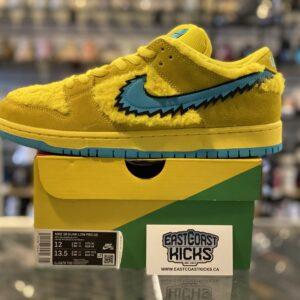 Nike SB Dunk Low Grateful Dead Yellow Size 12