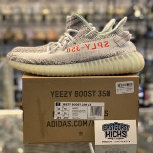 Preowned Adidas Yeezy 350 Blue Tint Size 10