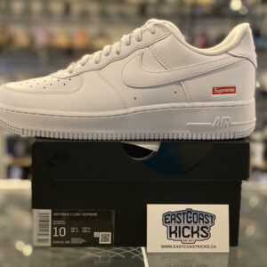 Supreme Nike Air Force 1 Low White Size 10