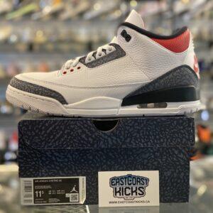 Jordan 3 Fire Red Denim 11.5