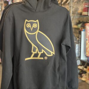 OVO Octobers Very Own Owl Hoodie Black Size S
