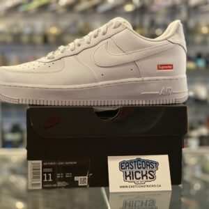 Supreme Nike Air Force 1 Low White Size 11