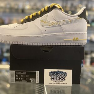 Nike Air Force 1 Low Gold Link Zebra Size 12