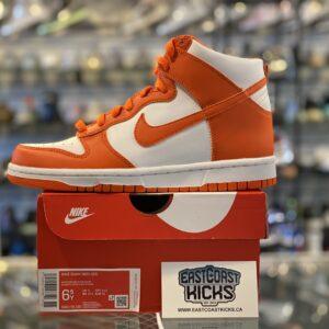 Nike Dunk High Syracuse Size 6.5Y
