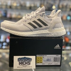 Preowned Adidas Ultra Boost 20 Grey Size 9