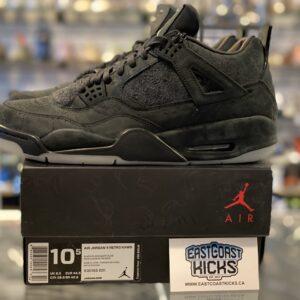 Worn Once KAWS Jordan 4 Black Size 10.5