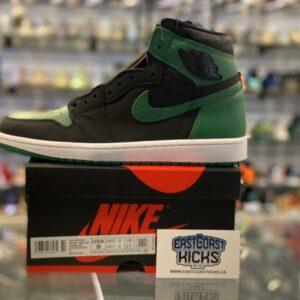 Jordan 1 High Pine Green Black Size 9