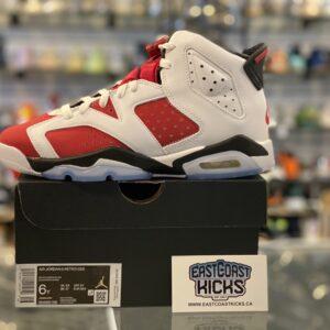 Jordan 6 Carmine Size 6Y