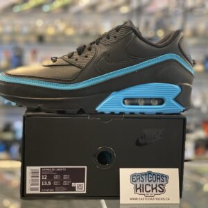 Undefeated x Nike Air Max 90 Black Blue Fury Size 12