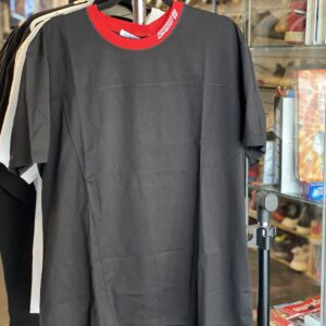 Givenchy Tee Black / Red Collar Size XXL
