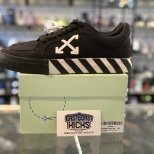 Preowned Off White Lows Black Size 8.5