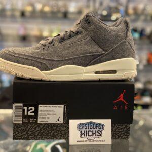 Jordan 3 Wool Size 12