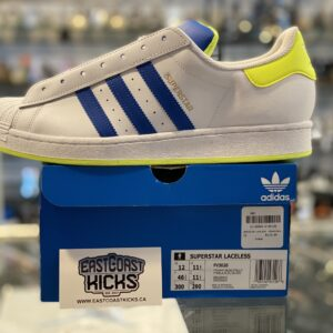 Adidas Superstar Laceless Green / Blue Size 12